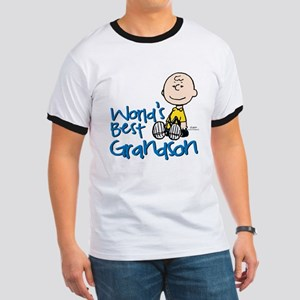 World's Best Grandson Ringer T