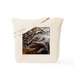 Native American Black Bear Tote Bag