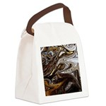 Native American Black Bear Canvas Lunch Bag