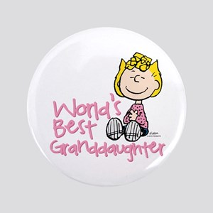 World's Best Granddaughter Button