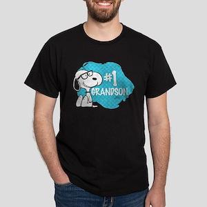 Number One Grandson Dark T-Shirt