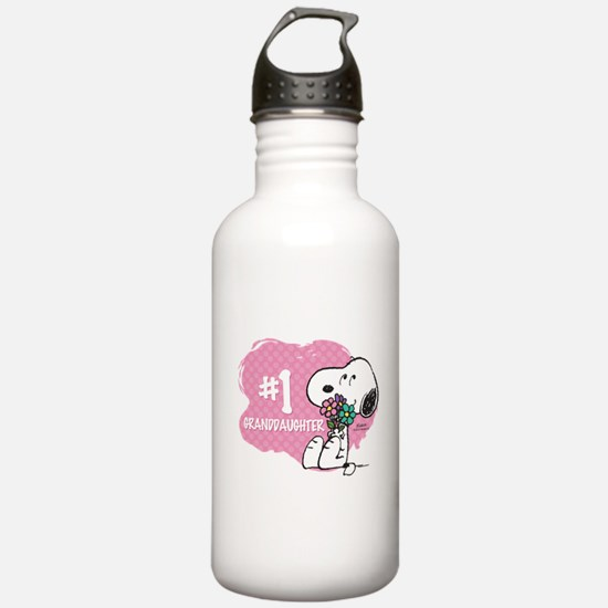 Number One Granddaught Water Bottle