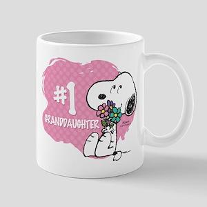 Number One Granddaughter Mug