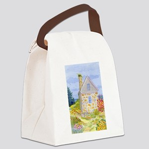 PARSON'S COTTAGE ON STAR ISLAND A Canvas Lunch Bag