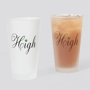 High Drinking Glass