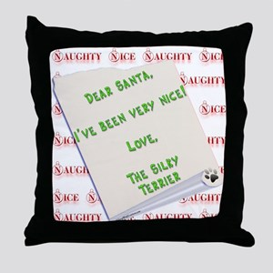 Silky Nice Throw Pillow