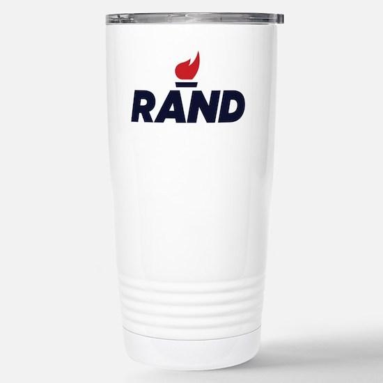 RAND PAUL logo Stainless Steel Travel Mug
