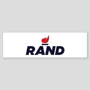 Rand Paul Logo Bumper Sticker