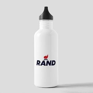 RAND PAUL logo Water Bottle