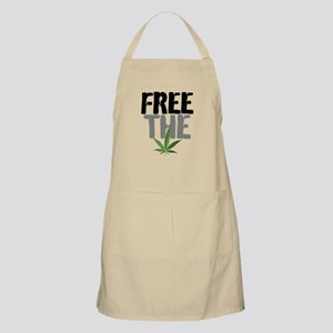 Free The Weed Apron