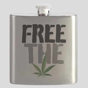 Free The Weed Flask