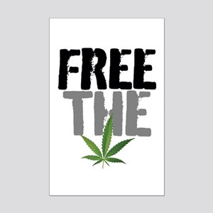 Free The Weed Posters