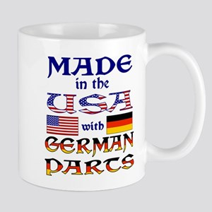 Made USA With German Parts Mugs