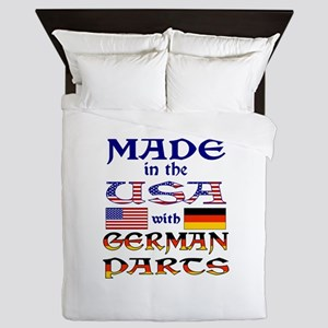 Made USA With German Parts Queen Duvet
