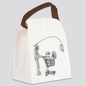 Plastic Trees Canvas Lunch Bag