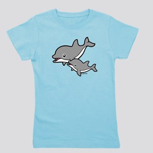 Dolphins Girl's Tee