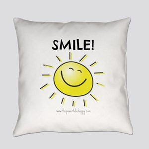 Smile Everyday Pillow
