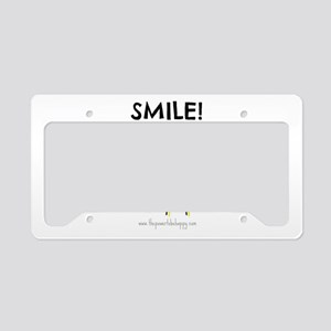 Smile License Plate Holder