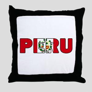 Peru Throw Pillow