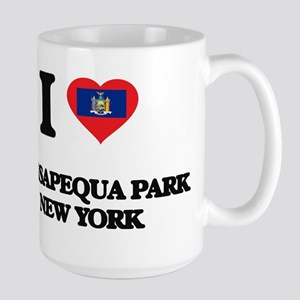 I love Massapequa Park New York Mugs