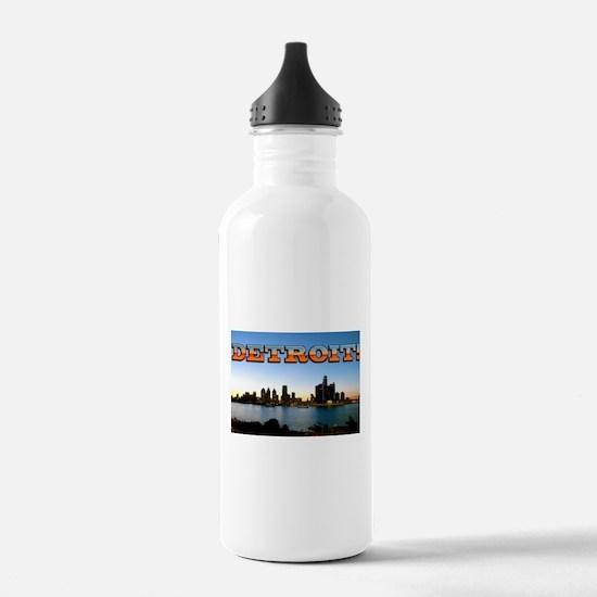 Detroit City Water Bottle