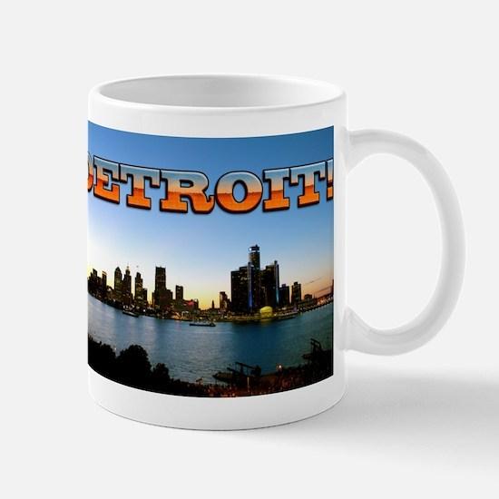 Detroit City Mugs