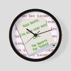 Smooth Fox Nice Wall Clock