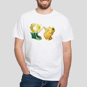 Shaker Bee White T-Shirt