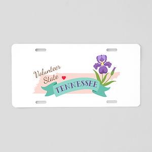 Tennessee Volunteer State Outline Iris Flower Alum
