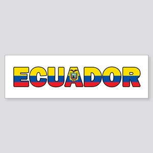 Ecuador Bumper Sticker