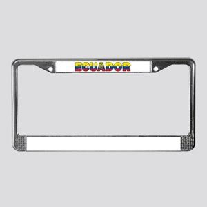 Ecuador License Plate Frame