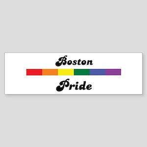 Boston pride Bumper Sticker
