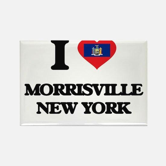 I love Morrisville New York Magnets