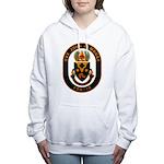 USS JOHN A. MOORE Women's Hooded Sweatshirt