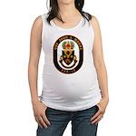 USS JOHN A. MOORE Maternity Tank Top