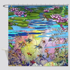 Water life Shower Curtain