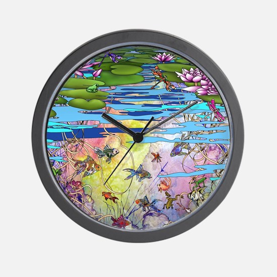 Water life Wall Clock