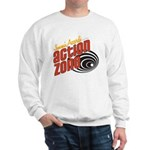 Action Zone Logo White Sweatshirt