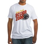 Action Zone Logo White T-Shirt