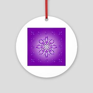 Amethyst Dream by Xen™ Ornament (Round)