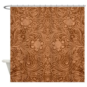 Leather Shower Curtains