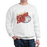 Action Zone Logo Black Sweatshirt