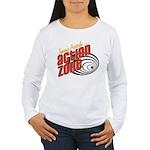 Action Zone Logo Black Long Sleeve T-Shirt
