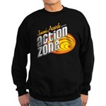 Action Zone Logo Red Sweatshirt