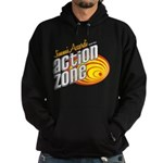 Action Zone Logo Red Hoodie