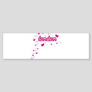 London Spread Bumper Sticker