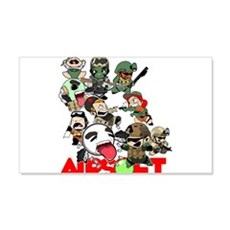 Airsoft Battle Royale Wall Decal