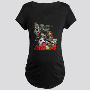 Airsoft Battle Royale Maternity T-Shirt
