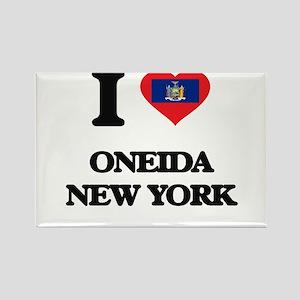I love Oneida New York Magnets