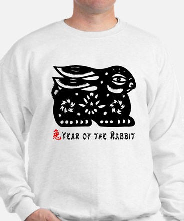 Chinese Zodiac Rabbit Sweatshirt